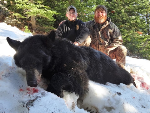 Black Bear Hunting Trip Details