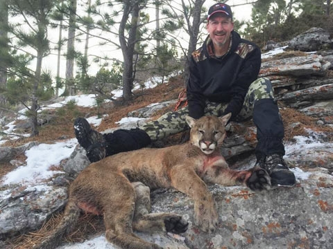 Mountain Lion Hunting Trip Details